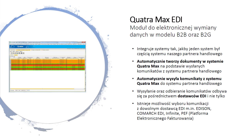 Quatra Max EDI